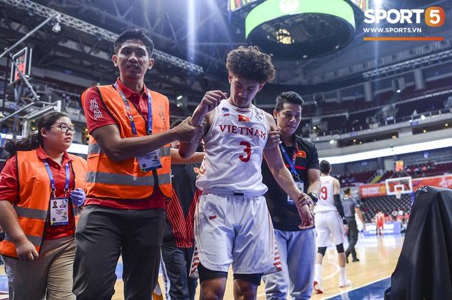 Chùm ảnh: Bật tung cảm xúc khi bóng rổ Việt Nam lần đầu giành tấm huy chương đồng tại SEA Games - ảnh 13