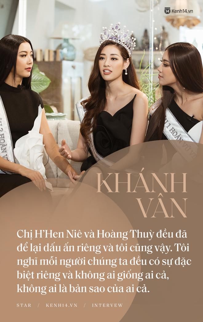 Top 3 Hoa hậu Hoàn vũ ngồi lại chia sẻ hậu đăng quang: Khánh Vân không muốn làm bản sao, Thúy Vân và Kim Duyên buồn vì không có vương miện! - ảnh 3