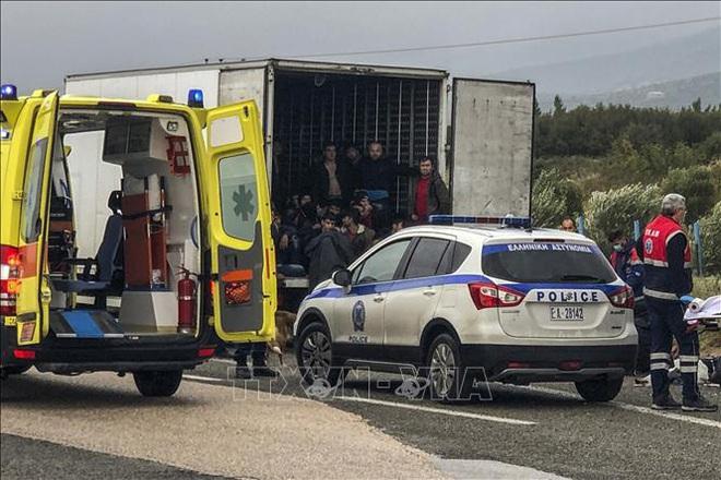 Phát hiện 6 thi thể người di cư tại biên giới Hy Lạp-Thổ Nhĩ Kỳ - ảnh 1