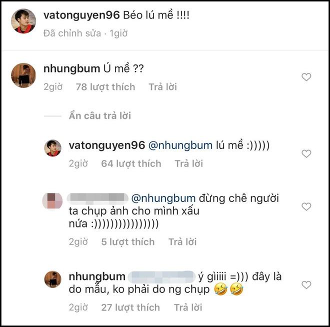 Lâu lâu mới comment dạo trên Instagram của nhau, Văn Toàn liền bị bạn gái soi ngay lỗi chính tả: Ú mề hay lú mề? - ảnh 2
