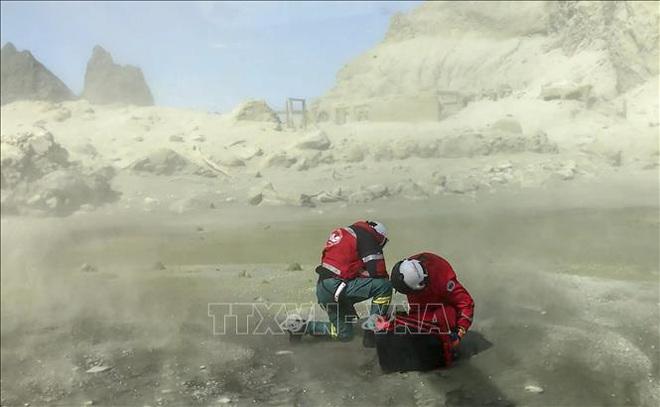 Chấp nhận mạo hiểm tìm kiếm 8 thi thể còn mắc kẹt trong ngọn núi lửa trên Đảo Trắng - ảnh 1