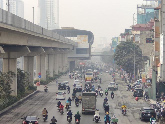 Không khí Hà Nội tiếp tục ở mức ô nhiễm nặng, rất có hại cho sức khỏe - ảnh 2