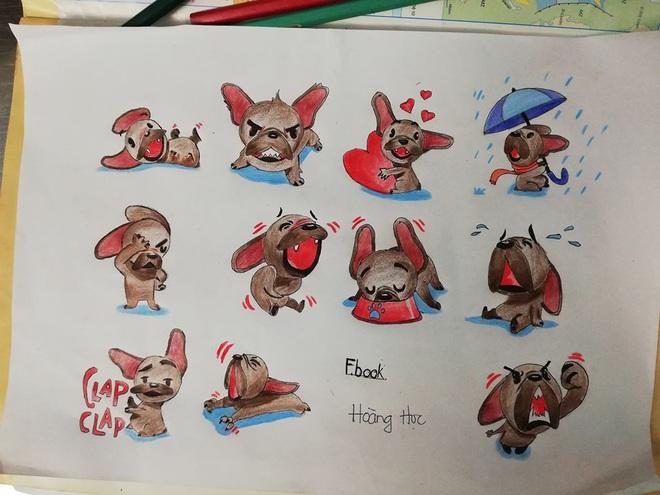 Quá rảnh rỗi trong giờ học, nam sinh vẽ tay loạt biểu tượng cảm xúc của Facebook trông còn chất hơn cả bản gốc - ảnh 2