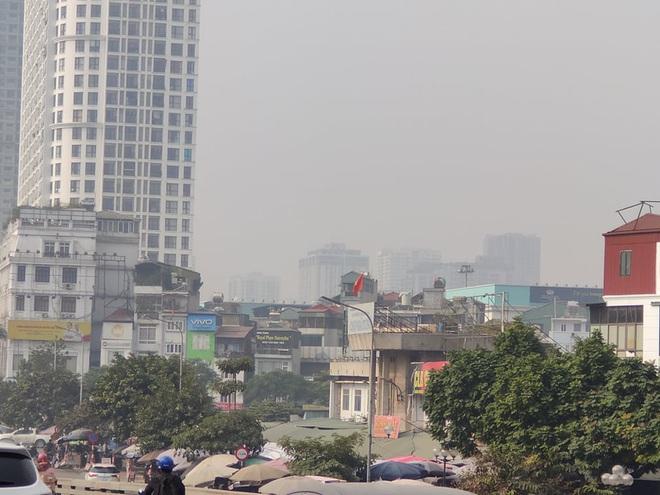 Không khí Hà Nội tiếp tục ở mức ô nhiễm nặng, rất có hại cho sức khỏe - ảnh 3