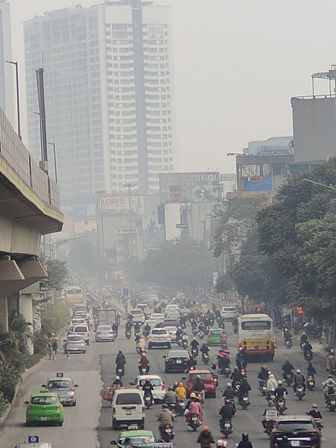 Không khí Hà Nội tiếp tục ở mức ô nhiễm nặng, rất có hại cho sức khỏe - ảnh 7