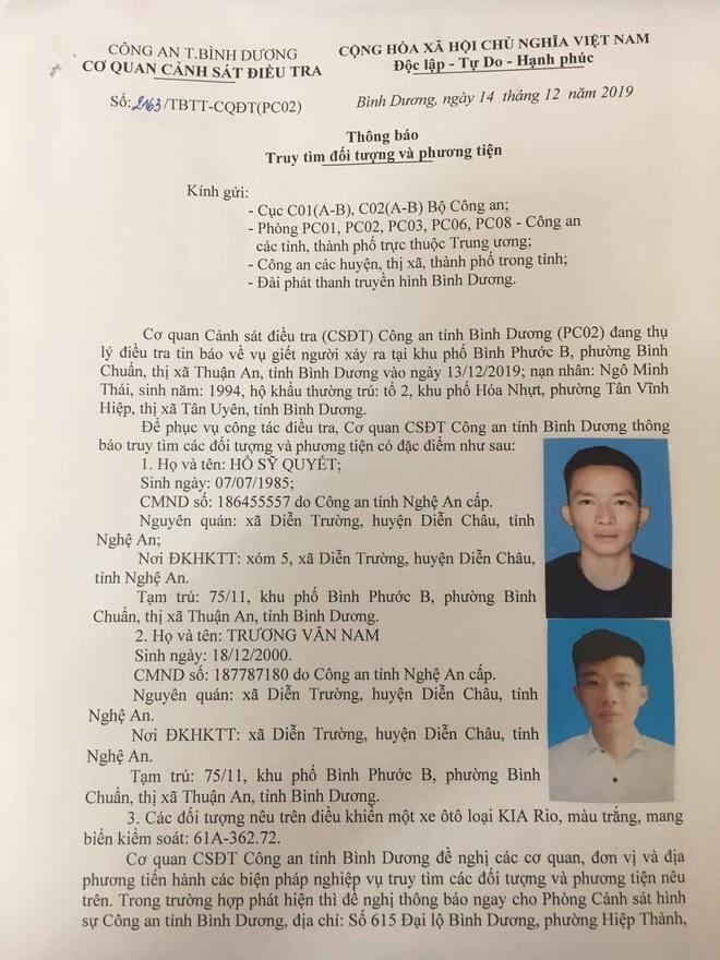 Truy tìm 2 đối tượng dùng dao đâm khiến 2 thanh niên thương vong - ảnh 1