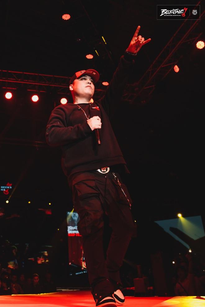 Vỡ oà với sân khấu hội ngộ của huyền thoại nhạc rap LK và công chúa của Lady Killer Emily tại Beck'Stage Unexpected Rap Fest - ảnh 7