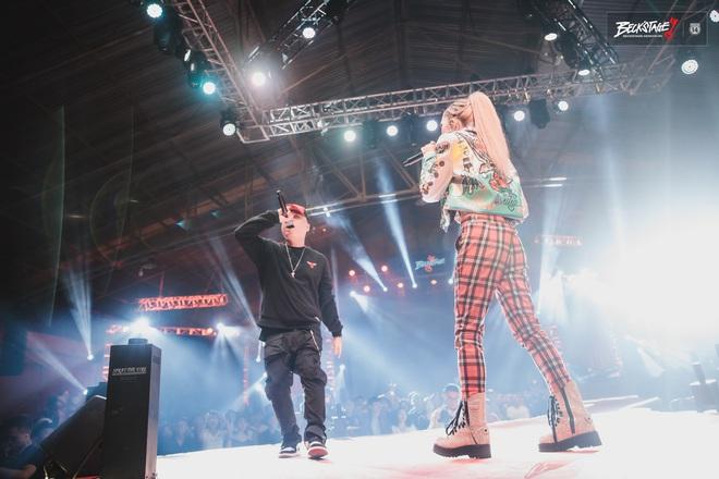 Vỡ oà với sân khấu hội ngộ của huyền thoại nhạc rap LK và công chúa của Lady Killer Emily tại Beck'Stage Unexpected Rap Fest - ảnh 9