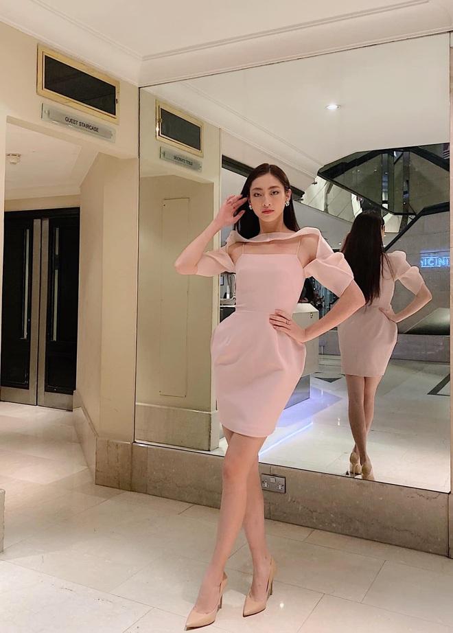 Clip Lương Thuỳ Linh nói Tiếng Anh trên sân khấu Hoa hậu Thế giới 2019: Đúng là không hổ danh dân Ngoại thương! - ảnh 5