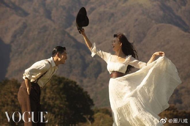 Công bố bộ ảnh cưới lồng lộn thửa riêng cho tạp chí của đệ nhất chân dài xứ Đài Lâm Chí Linh và chồng Nhật kém 7 tuổi - ảnh 8
