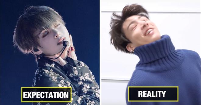 Tình nghĩa Jungkook và V (BTS) chắc có bền lâu: Anh diễn đẹp trai thần thái bao nhiêu, cậu em bày trò nhái lại lố dễ sợ! - ảnh 5