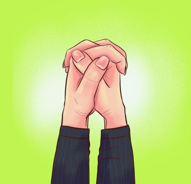 Cách bạn nắm hai bàn tay lại sẽ tiết lộ tính cách, mức độ thông minh, khả năng làm lãnh đạo của bạn, cùng thử nhé! - ảnh 1