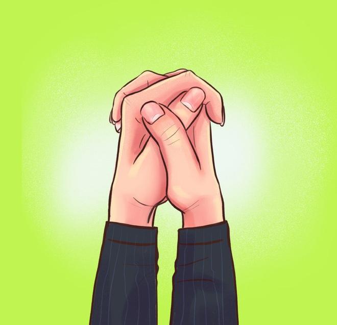 Cách bạn nắm hai bàn tay lại sẽ tiết lộ tính cách, mức độ thông minh, khả năng làm lãnh đạo của bạn, cùng thử nhé! - ảnh 3