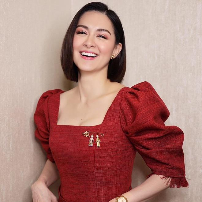Mỹ nhân đẹp nhất Philippines dạo này ngày càng sang chảnh, tích cực khoe vòng 1 bốc lửa hậu sinh con - ảnh 4