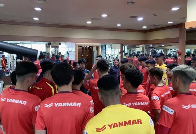 Ngày thứ 2 của U23 Việt Nam tại Hàn Quốc: Sáng ôn đấu pháp, chiều rèn thể lực - ảnh 9