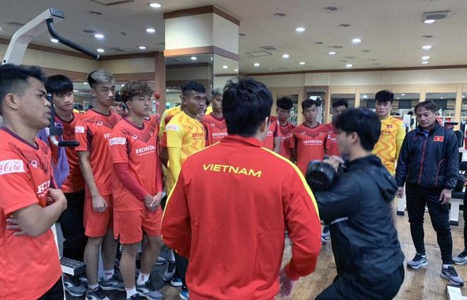 Ngày thứ 2 của U23 Việt Nam tại Hàn Quốc: Sáng ôn đấu pháp, chiều rèn thể lực - ảnh 10