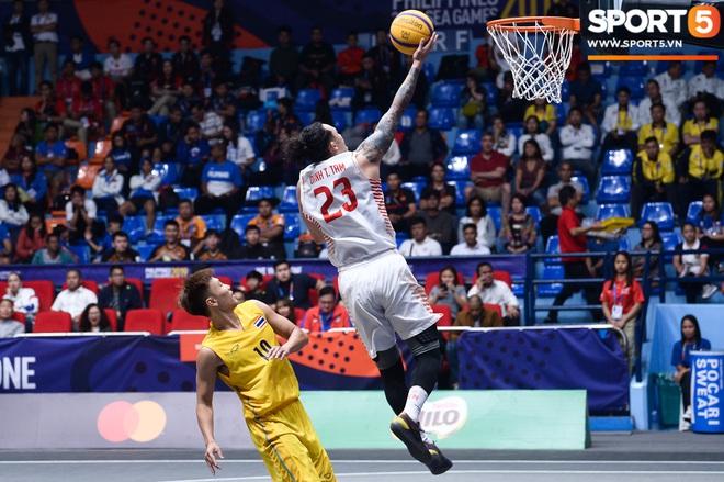 Đội bóng rổ nam Việt Nam đi vào lịch sử, giành huy chương đồng nội dung thi đấu 3x3 sau chiến thắng kịch tính trước Thái Lan - Ảnh 4.