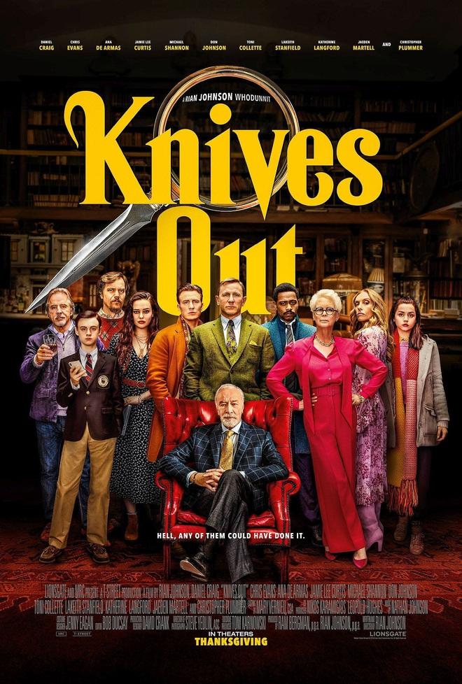 Xem phim trinh thám Knives Out nhớ ngồi cho vững vì phim bẻ lái nhanh ngỡ ngàng! - Ảnh 1.