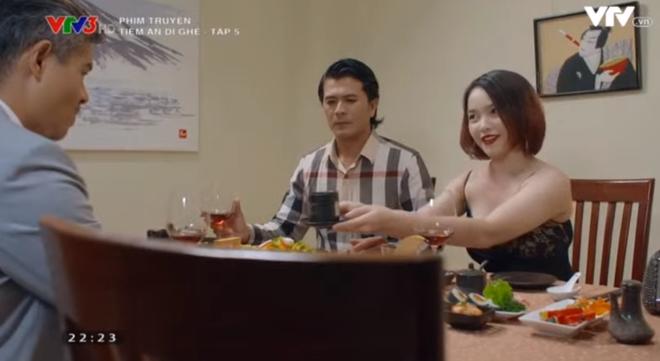Tiệm Ăn Dì Ghẻ tập 5: Chồng ép bán thân vì hợp đồng nghìn đô, Thiên Kim đau đớn xin làm vợ chứ không làm gái - ảnh 7