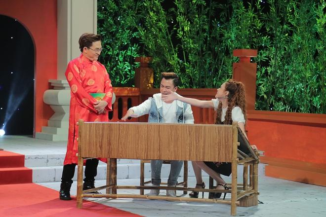 Đại Nghĩa cầm trịch TV Show thách đố sao Việt về ca dao tục ngữ - Ảnh 3.