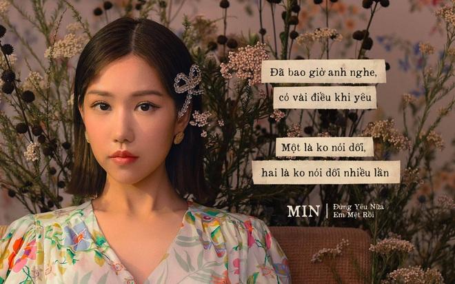 """MV """"Đừng yêu nữa, em mệt rồi"""" - Min: Bản ballad đậm chất tự sự cùng những thước phim đượm buồn về tình yêu - Ảnh 7."""