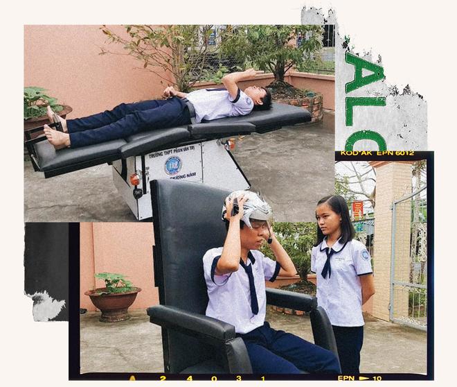 Hành trình kỳ diệu của 2  học sinh đam mê lập trình tạo nên chiếc xe lăn tiện ích cho người già và người khuyết tật - Ảnh 6.