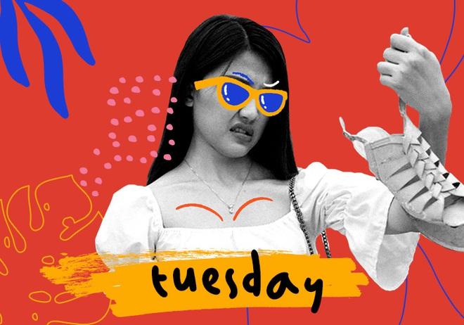 """Tuesday - khi cà khịa người thứ 3 cũng phải thật """"sang mồm - Ảnh 1."""