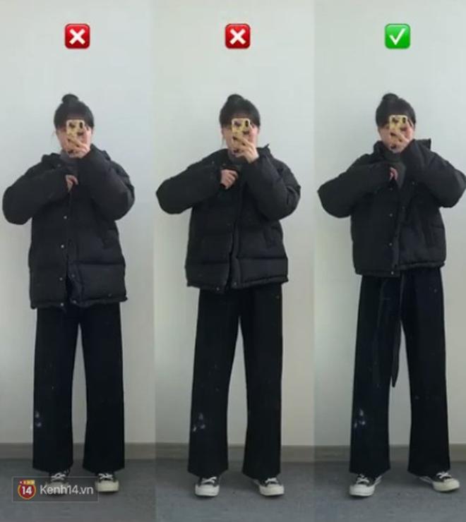 Cô nàng mi nhon thử 3 chiếc áo khoác để tìm ra chiếc tôn dáng hack chân dài nhất - ảnh 1