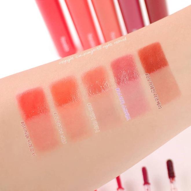 Trời rét đậm môi chỉ trực khô nứt, đây là 5 thỏi son tint Hàn siêu mềm môi mà lại bền màu từ sáng tới chiều xứng đáng để bạn khuân về - ảnh 24