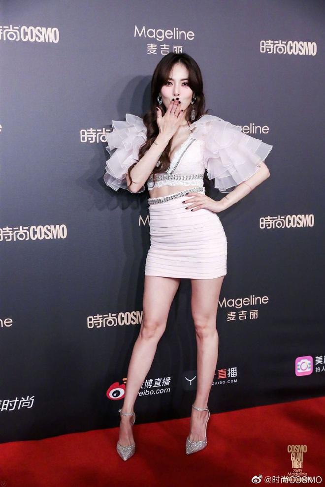 Bội thực thảm đỏ khủng quy tụ 100 sao Hoa-Hàn: Nhiệt Ba - HyunA sexy nổ mắt, Yoona đẹp tựa công chúa, Thẩm Nguyệt thất vọng - Ảnh 6.