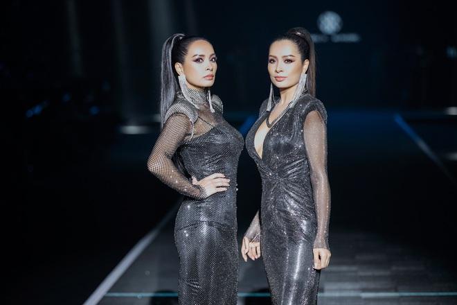Hội siêu mẫu Việt nhiều thế hệ cùng quy tụ, chặt chém nhau trên sàn catwalk chói lóa của Chung Thanh Phong - ảnh 2