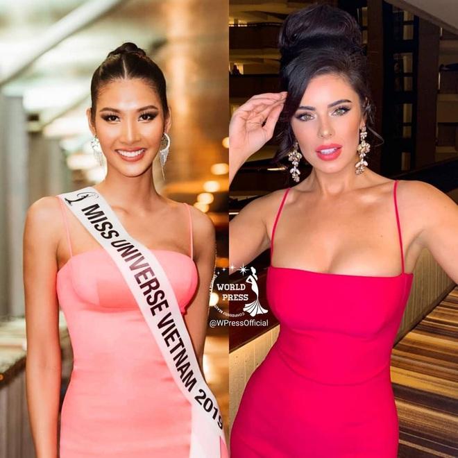 Hoàng Thùy ghi điểm khi thiết kế váy cho bạn cùng phòng tại Miss Universe, chẳng cần đo mà vừa in không trượt phát nào - ảnh 4