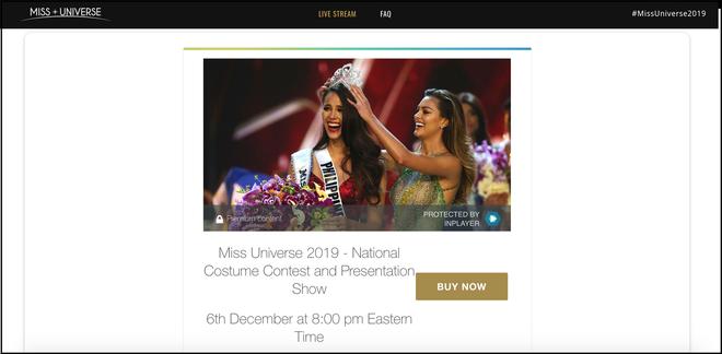 Miss Universe 2019 bị khán giả quốc tế kịch liệt phản ứng vì thu phí người xem trực tuyến - ảnh 2