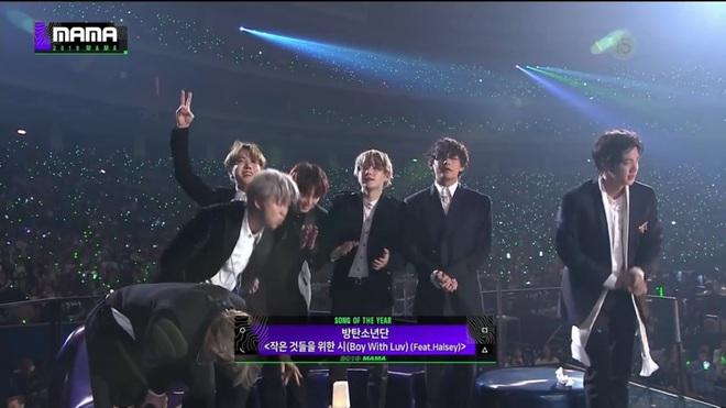 """Thêm 1 mùa """"bội thu"""" giải thưởng của BTS tại MAMA 2019: Đạt đến 10 cúp vàng, """"all-kill"""" toàn bộ Daesang! - ảnh 1"""