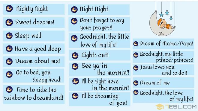 """30 cách chúc crush ngủ ngon bằng Tiếng Anh ngọt ngào hơn hai từ """"Good Night"""" thường dùng - ảnh 2"""