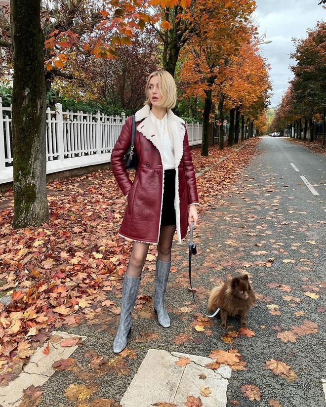Phụ nữ Pháp chỉ diện boots theo 4 cách sau là đã đẹp và sang trọn vẹn mùa lạnh - ảnh 13
