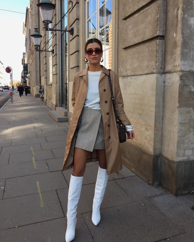 Phụ nữ Pháp chỉ diện boots theo 4 cách sau là đã đẹp và sang trọn vẹn mùa lạnh - ảnh 15
