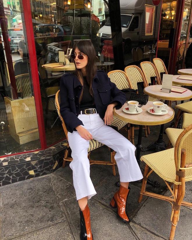 Phụ nữ Pháp chỉ diện boots theo 4 cách sau là đã đẹp và sang trọn vẹn mùa lạnh - ảnh 6