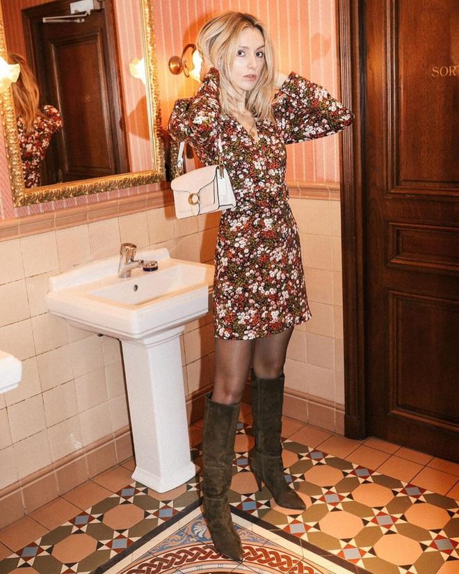 Phụ nữ Pháp chỉ diện boots theo 4 cách sau là đã đẹp và sang trọn vẹn mùa lạnh - ảnh 10