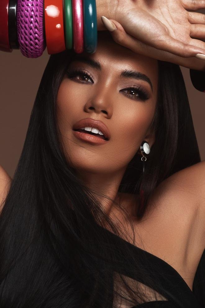 Hoàng Phương - ứng viên sáng giá của Hoa hậu Hoàn vũ VN đáp trả khi bị nói bắt chước Catriona Gray - ảnh 7