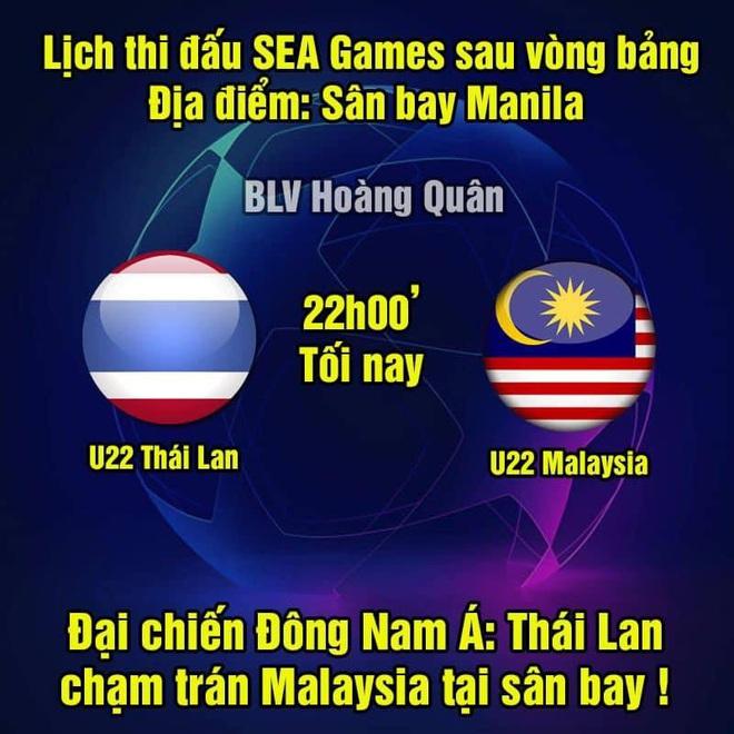 Cười lăn với loạt ảnh chế khi Việt Nam loại Thái Lan: Trọng tài đẹp trai chiếm spotlight, gây cười nhất là list thủ môn làm tăng độ khó cho game - ảnh 7