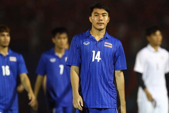 Bị Việt Nam cho về nhà sớm, cầu thủ Thái Lan suy sụp, thất thần, xấu hổ đến mức không dám nhìn các cổ động viên - ảnh 6
