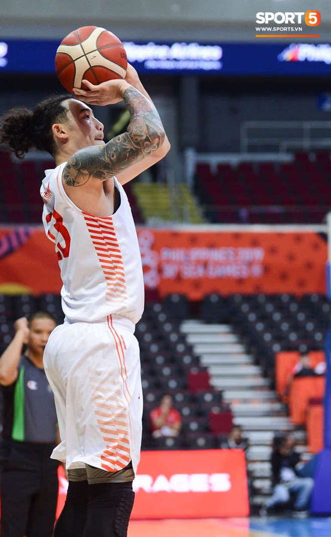 Thắng thuyết phục Singapore, bóng rổ Việt Nam vào bán kết SEA Games 30 lần đầu tiên trong lịch sử - Ảnh 7.