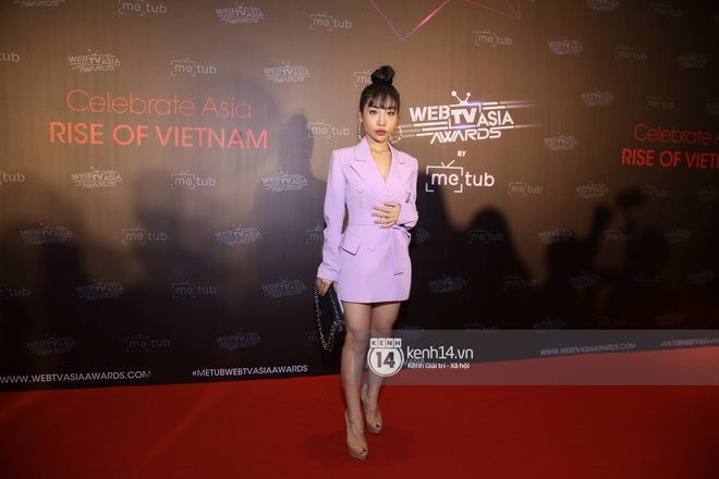 Thảm đỏ WebTVAsia Awards 2019: Nhã Phương, Chi Pu đồng loạt khoe vai thon gợi cảm, cùng dàn nghệ sĩ châu Á tự tin khoe sắc - ảnh 19