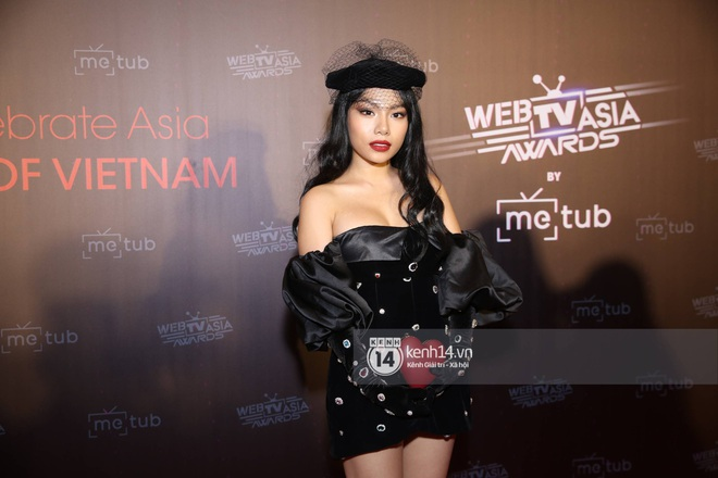 Thảm đỏ WebTVAsia Awards 2019: Nhã Phương, Chi Pu đồng loạt khoe vai thon gợi cảm, cùng dàn nghệ sĩ châu Á tự tin khoe sắc - ảnh 22
