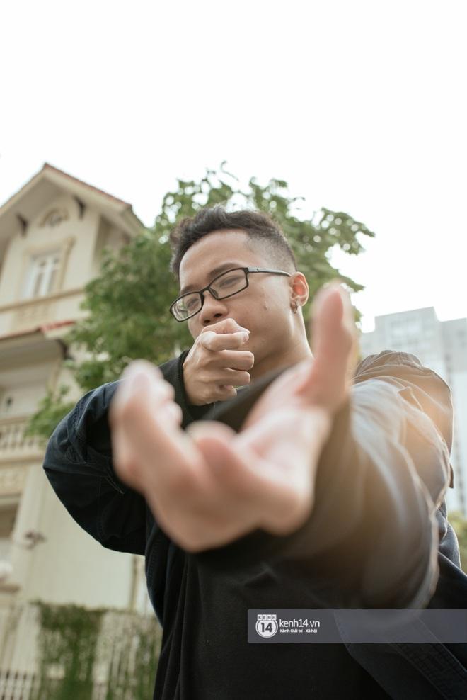 """Rapper Đại Vũ: Nếu bạn chỉ còn biết dùng bạo lực thay cho lời nói thì rõ ràng bạn chỉ là kẻ bất lực, """"loser"""" mà thôi - ảnh 1"""