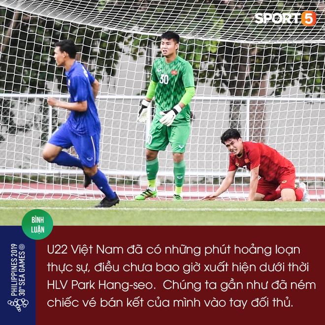 Phía sau tấm vé bán kết của U22 Việt Nam: Tiễn người, răn mình - Ảnh 1.