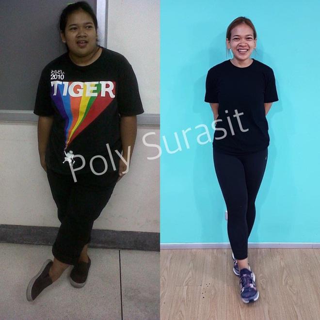 Từ 95kg xuống 50kg, cô gái Thái Lan chia sẻ bí quyết giảm cân trong 6 tháng mà ai cũng có thể làm được - ảnh 14