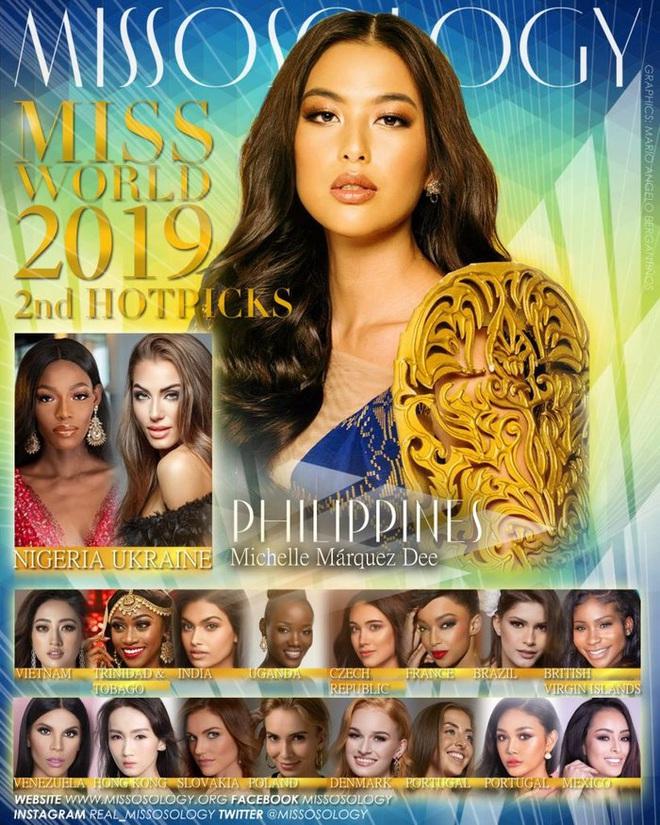 Lương Thùy Linh liên tục thăng hạng trên BXH Missosology, con đường chạm tay tới chiếc vương miện Miss World 2019 đang ở rất gần! - Ảnh 1.
