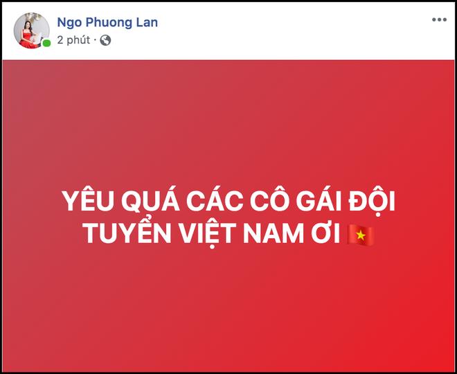 Đặng Thu Thảo, Chi Pu cùng dàn sao Vbiz vỡ oà hạnh phúc khi tuyển nữ Việt Nam giành HCV SEA Games 30 - Ảnh 9.